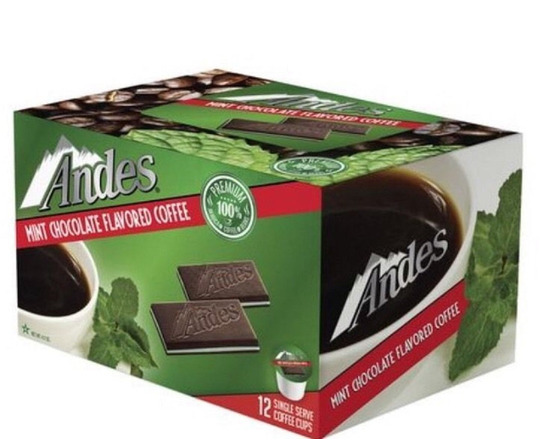 Andes Mint Chocolate Flavored Single Serve Coffee K-Cups
