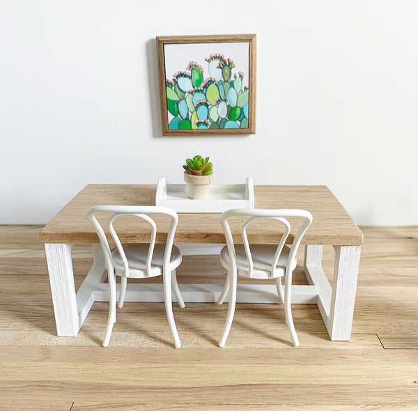 Scandi Box Table and Bench Seat (sold separately)