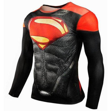 T-Shirt de compression manches longues Supermandale Master Edition