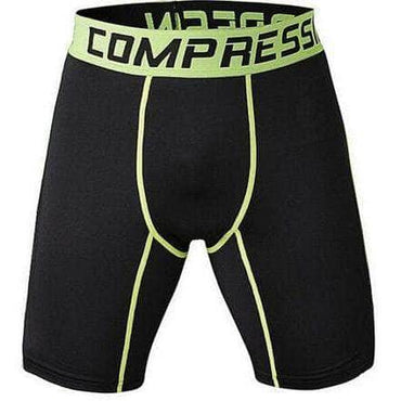 Short Compression Green Edition - Le Vestiaire Rugby