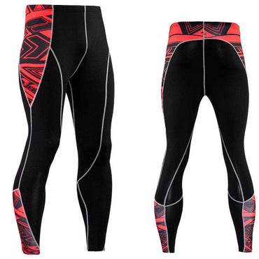 Collant Compression Red Maori