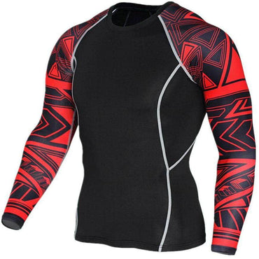 T-Shirt de compression manches longues Maori