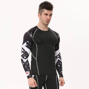 T-Shirt de compression manches longues Cross Road