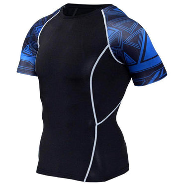 T-Shirt de compression manches courtes Maori