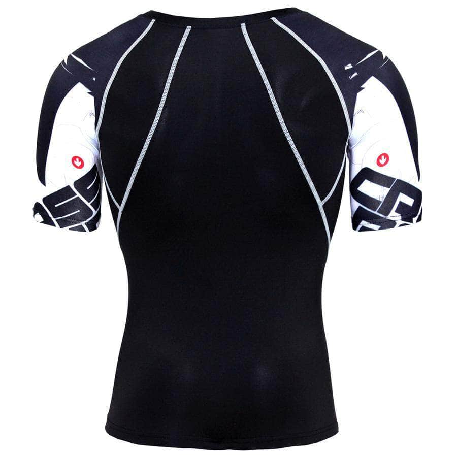 T-Shirt de compression manches courtes Cross Road - Le Vestiaire Rugby