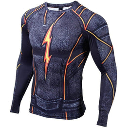 T-Shirt de compression manches longues TGV Fire Edition