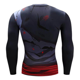 T-Shirt de compression manches longues Goku Devil Edition