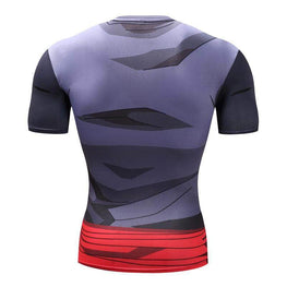T-Shirt de compression manches courtes Goku Black Edition - Le Vestiaire Rugby