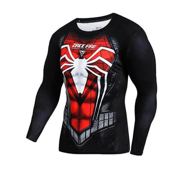 T-Shirt Compression manches longues Spider Edition