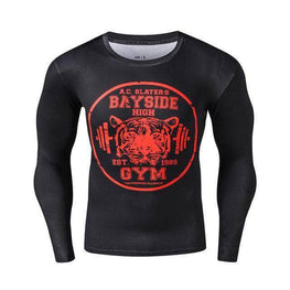 T-Shirt de compression manches longues Bayside Edition