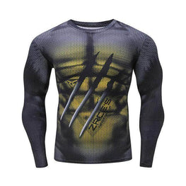 T-Shirt Compression manches longues Monster Edition