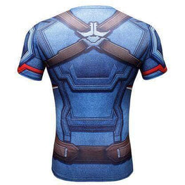 T-Shirt de compression manches courtes Captain Tervalle Master Edition - Le Vestiaire Rugby