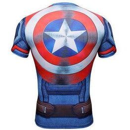 T-Shirt de compression manches courtes Captain Tervalle Assault Edition - Le Vestiaire Rugby