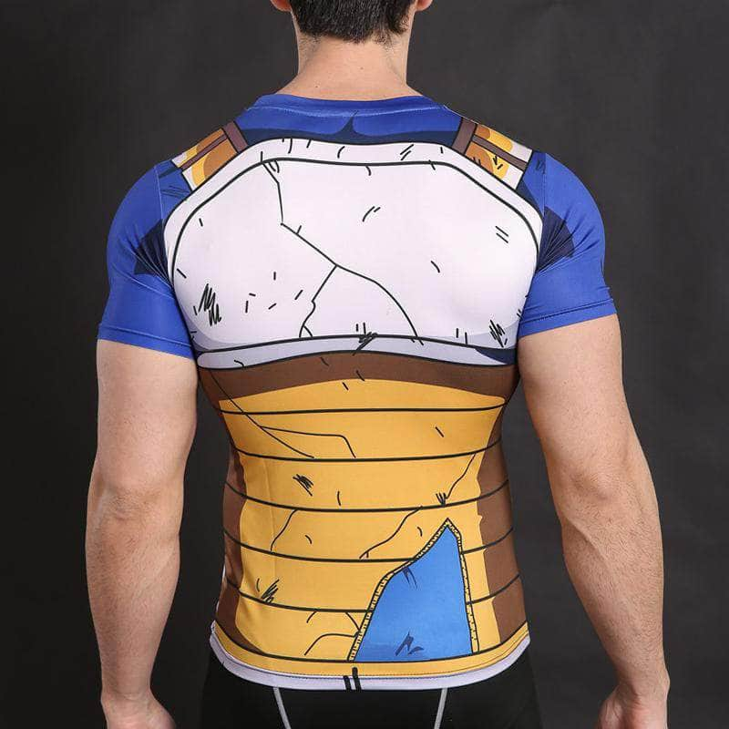 T-Shirt de compression manches courtes Vegeta Master Edition - Le Vestiaire Rugby