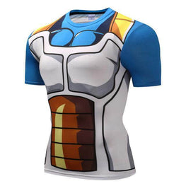 T-Shirt de compression manches courtes Vegeta Classic Edition - Le Vestiaire Rugby