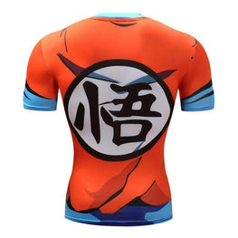 T-Shirt de compression manches courtes Goku Light Edition - Le Vestiaire Rugby