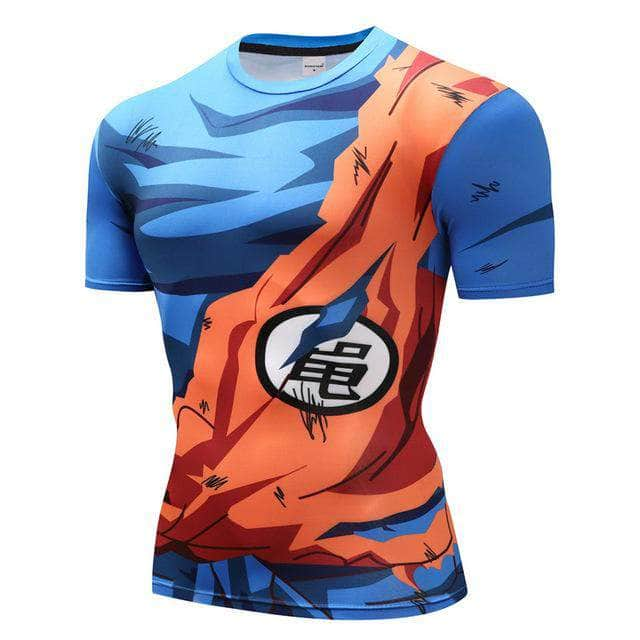 T-Shirt de compression manches courtes Goku Master Edition