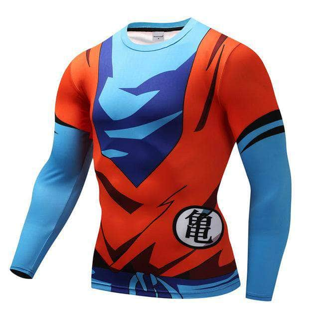 T-Shirt de compression manches longues Goku Classic Edition