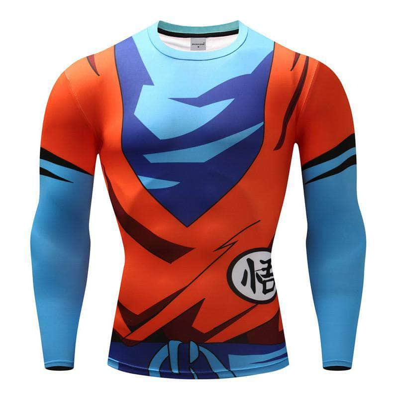 T-Shirt de compression manches longues Goku Light Edition