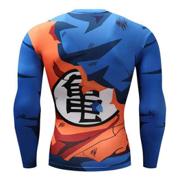T-Shirt de compression manches longues Goku Master Edition
