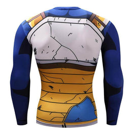 T-Shirt de compression manches longues Vegeta Master Edition