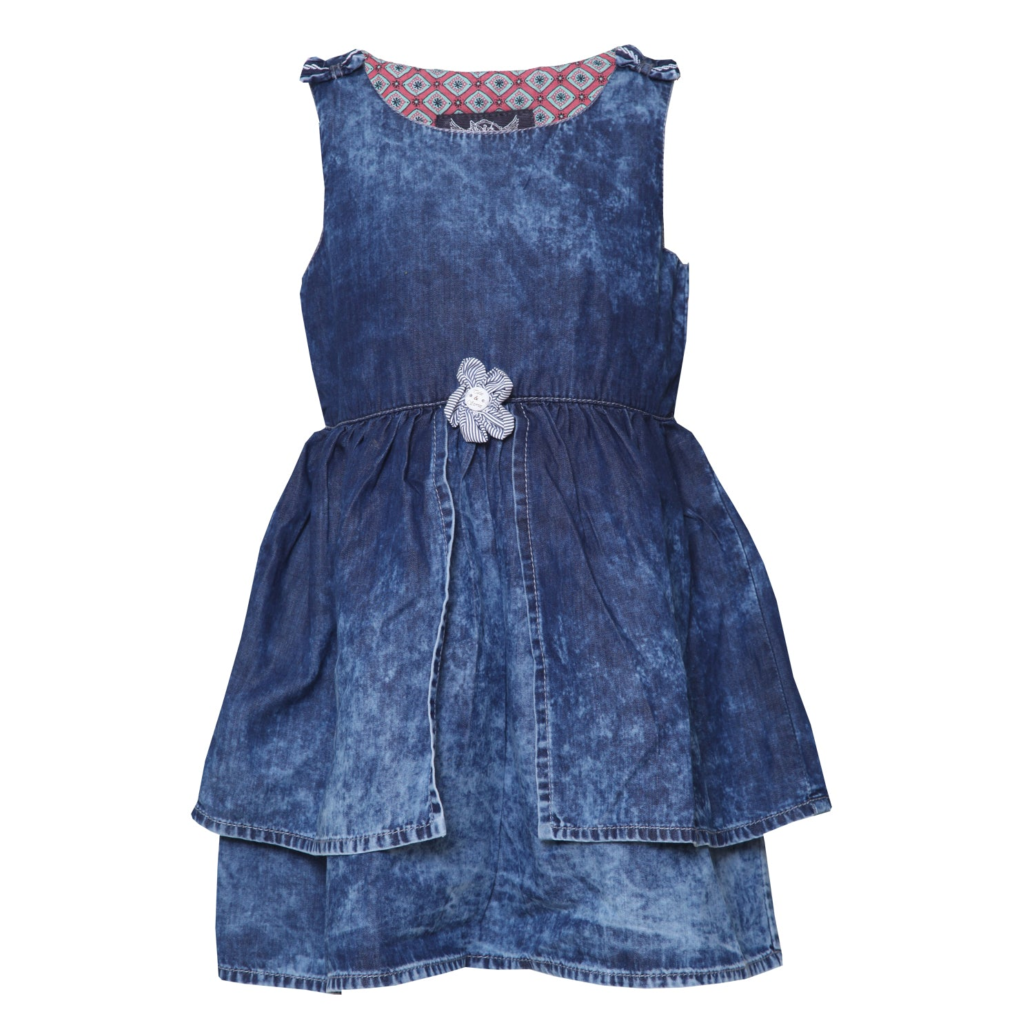 Buy Baby Girls Denim Dress line Tales & Stories
