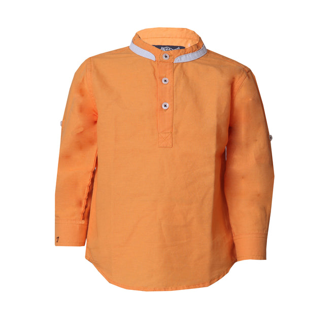 Baby Boys Shirts Light Orange