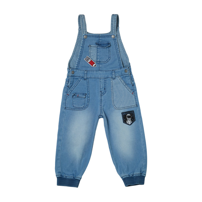 Baby Boy Dungaree Blue