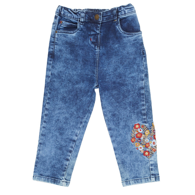 Baby Girls Jeans Medium Blue