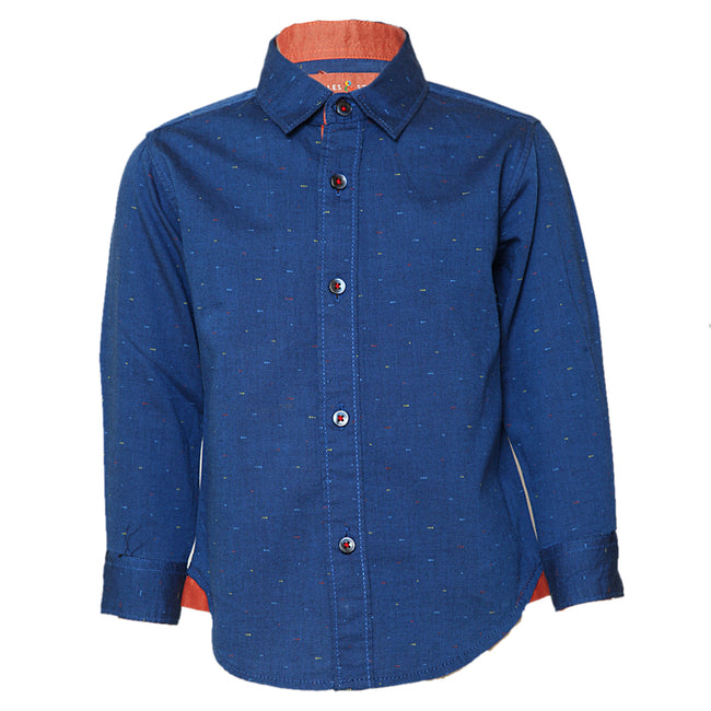 Baby Boys Shirts Royal Blue