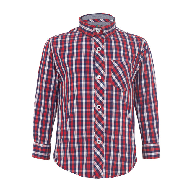 Baby Boys Shirts Red