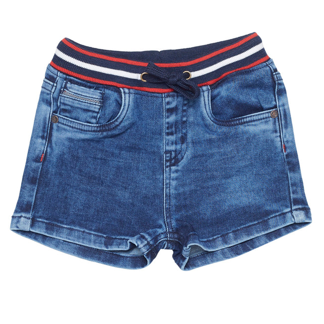 Baby Boys Shorts Medium Blue