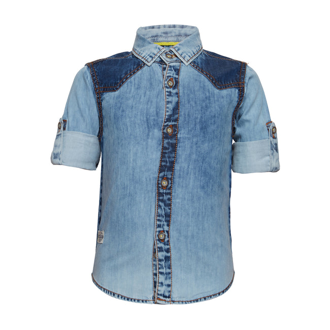 Baby Boys Shirt Blue