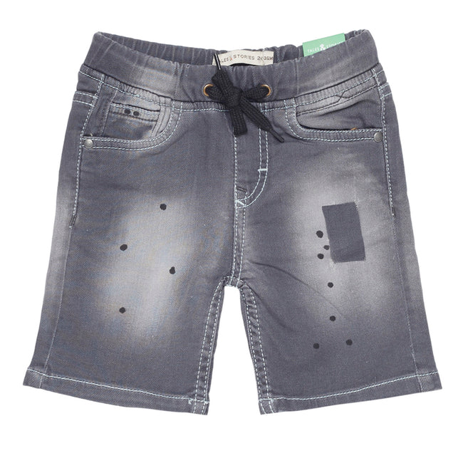 Baby Boys Shorts Grey