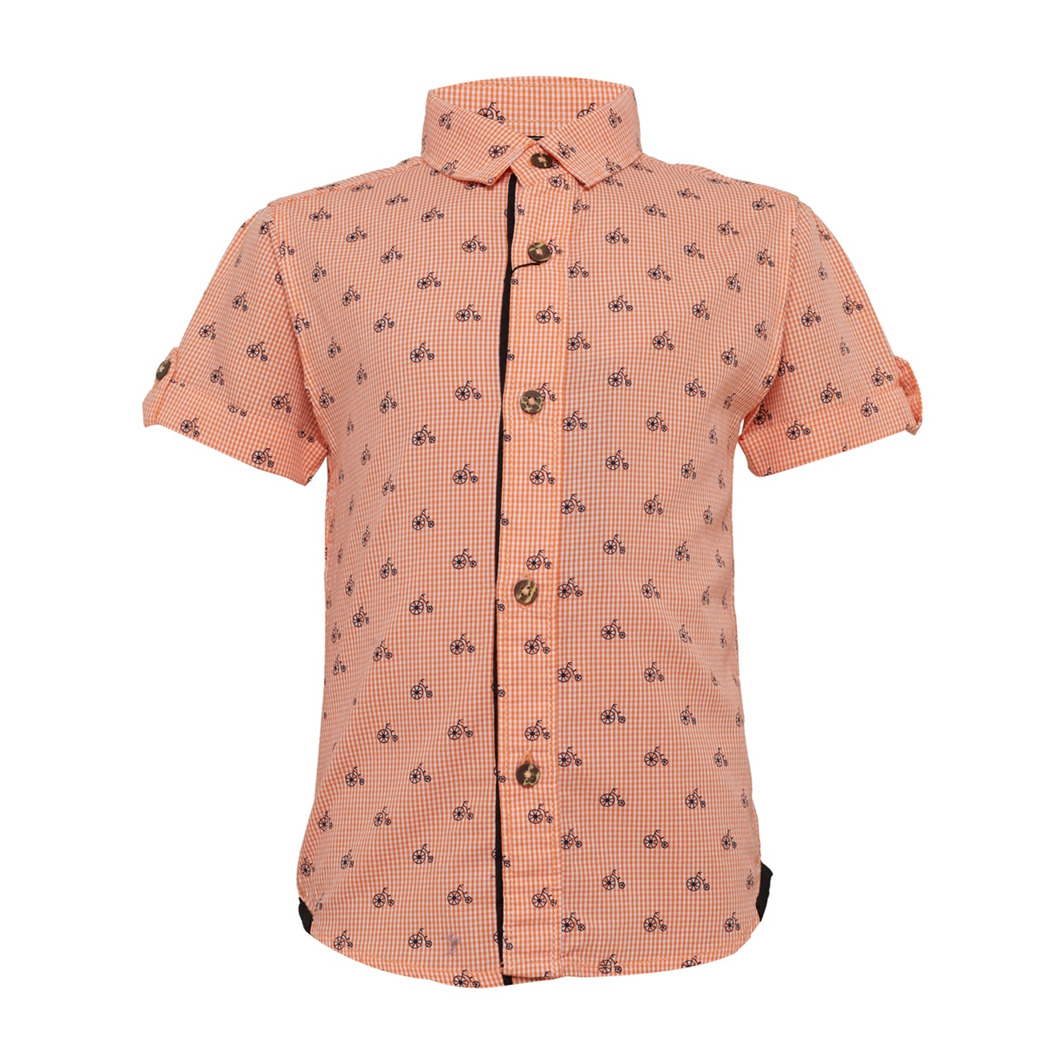 Baby Boys Shirt Orange