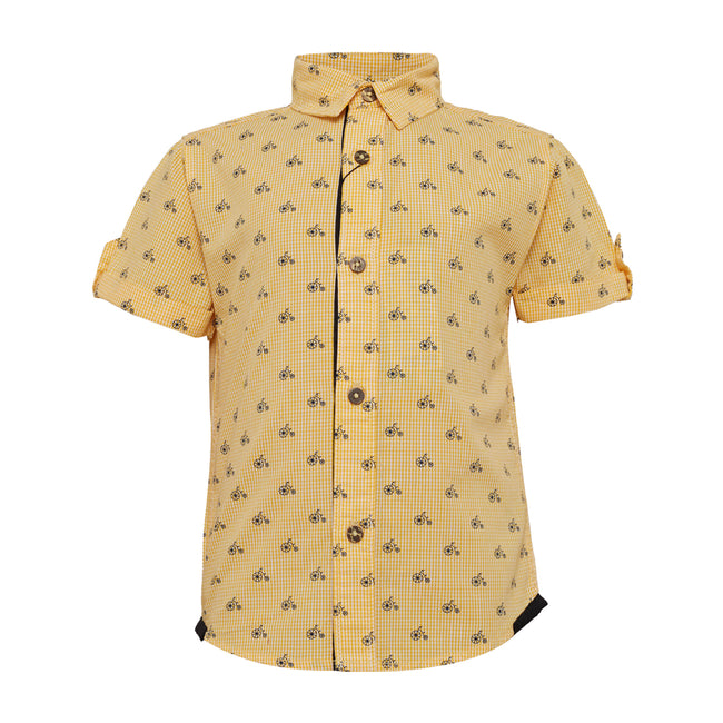 Baby Boys Shirt Yellow