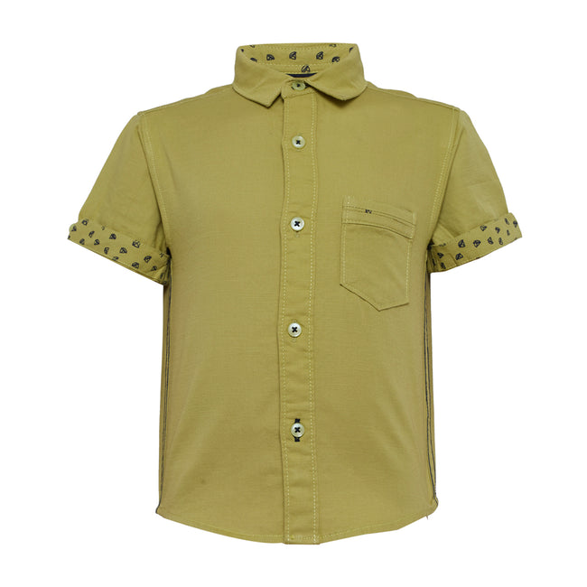 Baby Boys Shirt Green