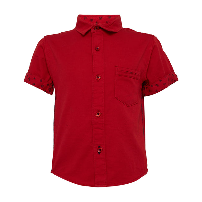 Baby Boys Shirt Red