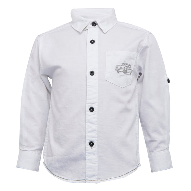 Baby Boys Shirt White