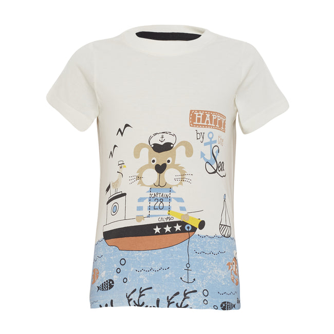 Baby Boys T-Shirt Off White