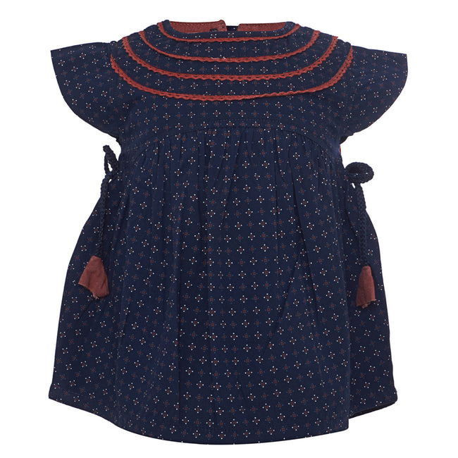 Baby Girls Top Navy Blue