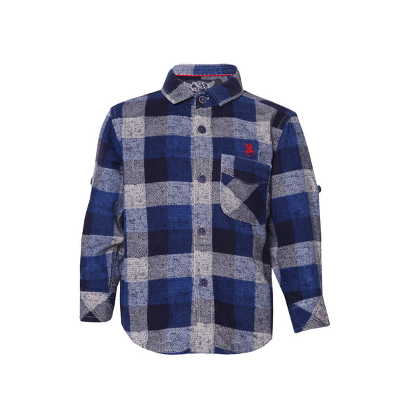 Boys Shirt Blue