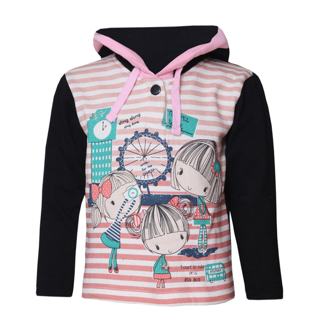 Girls Sweatshirts Peach