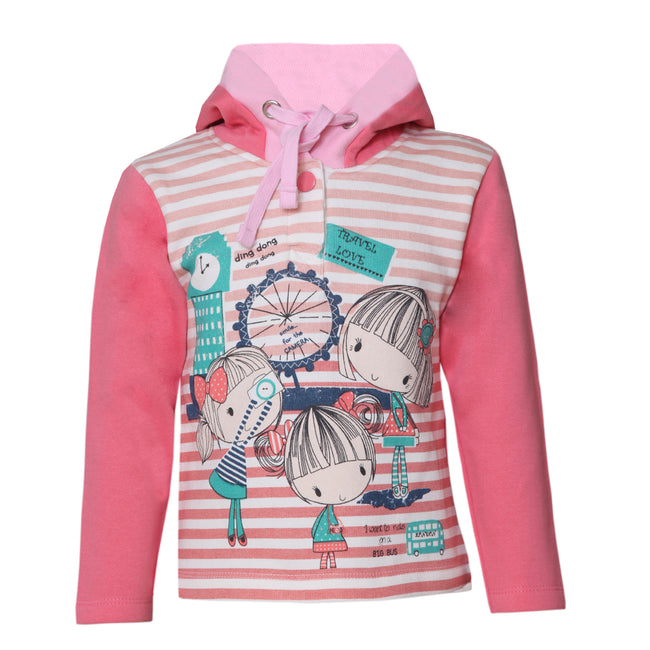 Girls Sweatshirts Pink