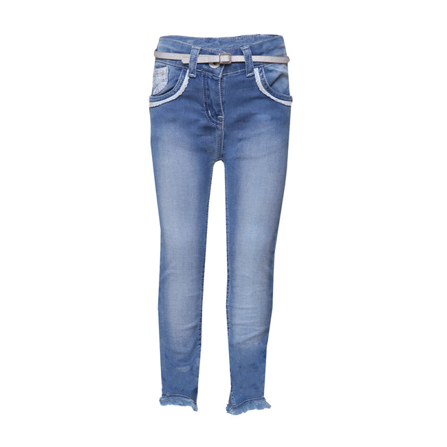 Girls Jeans Medium Blue