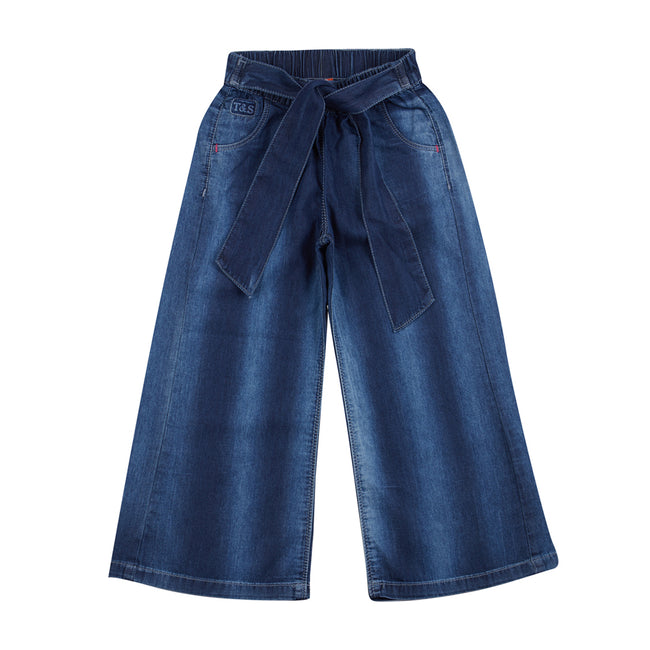 Girls Trousers Dark Blue