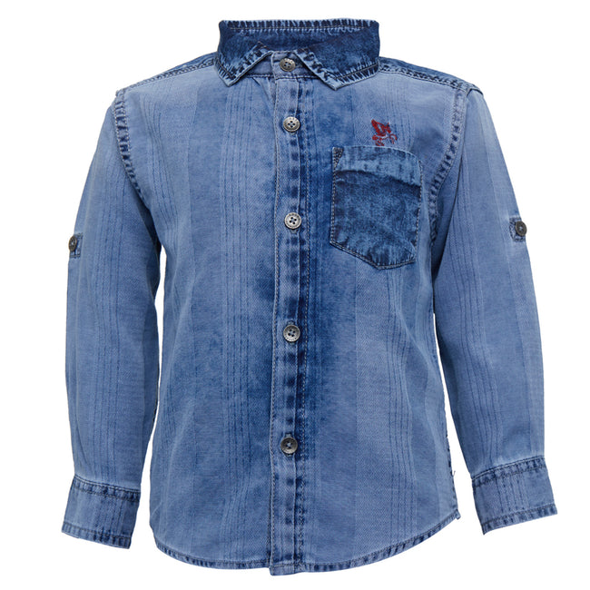 Boys Shirt Light Blue
