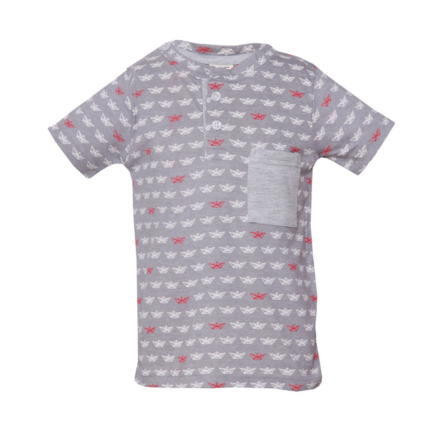 Boys T-Shirt Grey