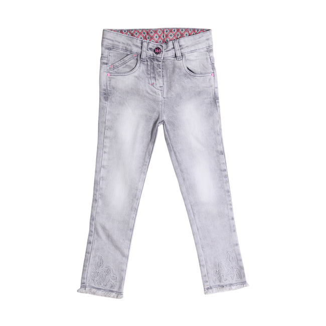 Girls Jeans Grey