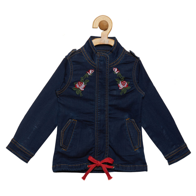 Girls Jackets Dark Blue